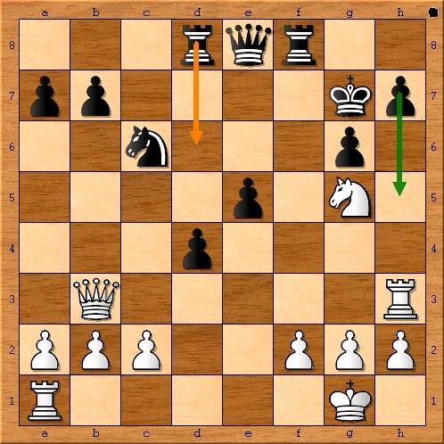 Stellung nach 19. Sfg5 Lxg5 20. Sxg6